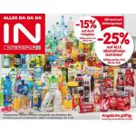 Neue Sortimentsaktionen (z.B.: -25% auf alle alkoholfreie Getränke bei Interspar)