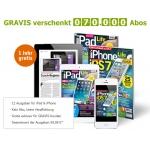 Gravis verschenkt 12 Ausgaben von iPad Life/iPhone Life (digital)