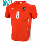 Hervis Online Super Sale mit bis zu -70% – z.B.: Puma Österreich Heimtrikot mit Alaba Beschriftung um 43,99€ statt 89,99€