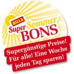 Billa Super Sommer Bons – z.B.: -30% auf alle kohlensäurehältigen Limonaden