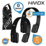 2x HMDX Fusion Bluetooth On-Ear Kopfhörer inkl. Versand um 45,90€