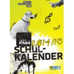 Gratis FM4 Schulkalender 14/15 im FM4-Shop