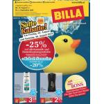 Neue Sortimentsaktionen (z.B.: -25% auf alle Kosmetik- und Damenhygieneprodukte bei Billa)