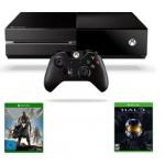 XBox One Konsole + Destiny + Halo um 399€ im Bundle