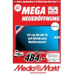 Media Markt Plus City in Pasching Neueröffnung – alle Eröffnungsangebote gültig vom 04. – 06.09.2014