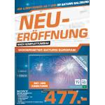 Saturn Salzburg Europark Neueröffnung – alle Eröffnungsangebote vom 04. – 06.09.2014 im Preisvergleich!