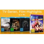 5 Tage Film-Schnäppchen vom 05. – 09. September 2014 – z.B. 3 Blu-rays bzw. 2 TV-Serien um 18€ oder 2 TV-Serien auf Blu-ray um 30€
