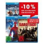 -10% auf alle Blu-rays & Blu-rays 3D