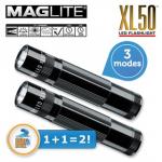 2x Maglite XL50 LED-Taschenlampe inkl. Versand um 35,90€