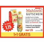 Spar Mahlzeit Gutscheine gueltig bis 24.09.2014 zB.: 2 x 0,5l Latella um 1,15 €