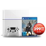 PlayStation 4 White Destiny Bundle um 399€ bei Gamestop