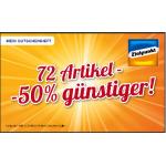 -50% auf viele Produkte bei Zielpunkt bis 23. September 2014