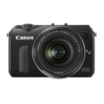 Canon EOS M kompakte Systemkamera mit Objektiv um 289€