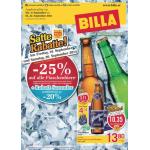 Neue Sortimentsaktionen (z.B.: -25% auf alle Flaschenbiere bei Billa)