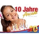 10 Jahre Arcade Meidling – viele Angebote bis 20.09.2014