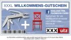 Multifunktionsmesser und roter Ministuhl zum selberbasteln Gratis @XXXLutz