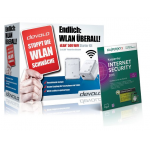 devolo dLAN 500 Wifi Starter Kit inkl. Kaspersky IS 2015 um 84€