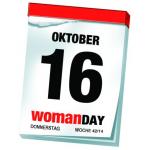 Woman Day am 16. Oktober 2014 offiziell bestätigt!