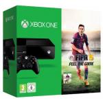Xbox One Konsole + 2 Controller inkl. FIFA 15 (DLC) um 399€