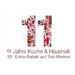 10% Extra-Rabatt auf Küche & Haushalt Artikel bei Amazon.de