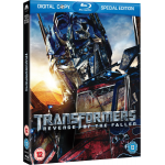 Transformers 2 – Die Rache (Blu-ray + Digital Copy) für ca. 5,15 Zavvi