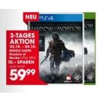 Mittelerde Mordors Schatten um 59,99€ bei Libro (PS4, XBO)