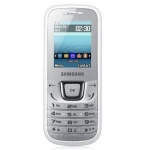 Samsung E1280 in schwarz oder weiß 1 + 1 Gratis um 19,95€