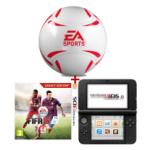 Nintendo 3DS XL + FIFA 15 (3DS) & einen EA-Sports Fussball um 166€