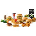 McDonald's Linz & Pasching: 20€ Wertgutschein um 9,90€ bei Groupon