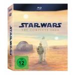 Star Wars: The Complete Saga I-VI Blu-ray um 57,41€ bei Amazon.de