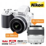 Nikon 1 V2 Digitalkamera Kit + 10-30 mm VR + 30-110 mm um 455,90€