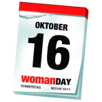 Woman Day 2014 – am 16. Oktober 2014 – vorläufige Angebote (inkl. SCS)
