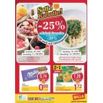 Neue Sortimentsaktionen (z.B.: -25% auf alle Süßwaren inkl. Lebkuchen bei Billa)