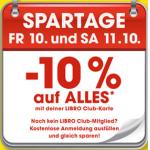 """-10% auf """"Alles"""" bei Libro für Club oder s'cool card-Mitglieder"""
