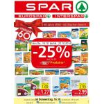 Spar: 1+1 Aktionen & Gutscheine sowie -25% auf alle Iglo Produkte