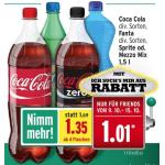 Merkur: nur noch heute -25% auf alkoholfreie Getränke – z.B.: 1,5L Cola um 1,01€ statt 1,69€ oder Red Bull um 0,89€ statt 1,39€