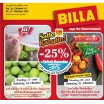 Satte Rabatte bei Billa -25% auf z.B. alle Tiefkühlprodukte & Inzersdorfer Fertiggerichte