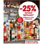 Interspar: 1+1 Aktionen & z.B. -25% auf alle Spirituosen