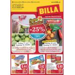 Neue Sortimentsaktionen (z.B.: -25% auf alle Ja Natürlich Bio-Produkte und Tiefkühlprodukte bei Billa)