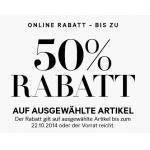 -50% bei H&M Online auf ausgewählte Artikel