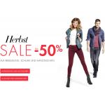 Amazon.de Fashion Herbst Sale mit bis zu -50%