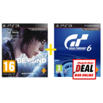 Beyond Two Souls (PS3) + Gran Turismo 6 (PS3) um 30€