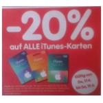 -20 % auf iTunes-Karten bei Interspar vom 22.10. bis 25.10.2014