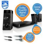 Philips 3D-Blu-Ray-2.1-Heimkino-System um 208,90€ inkl. Versand