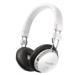 Philips Bluetooth-Stereo-Kopfhörer mit Mikrofon in weiß um 54,99€