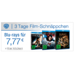 3 Tage Film-Schnäppchen vom 24. – 26. Oktober 2014 – z.B.: DVDs um je 4,44€, Blu-rays um je 7,77€ oder 3D Blu-rays ab 13,13€