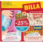 Satte Rabatte bei Billa -25% auf z.B. alle Produkte der Marken Kelly's und Soletti