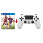 Fifa 15 & PS4 Dual Shock Controller in Weiss um 88€