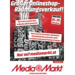 Media Markt – Großer Räumungsverkauf im Online-Shop bis 29. Oktober