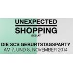 SCS – Geburtstagsrabatte und Gutscheine am 7. & 8.11.2014